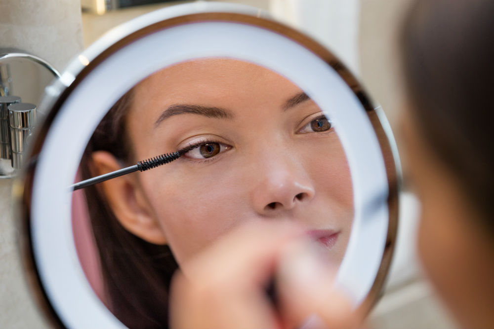 Why Use a Concave Mirror for Makeup or Shaving?