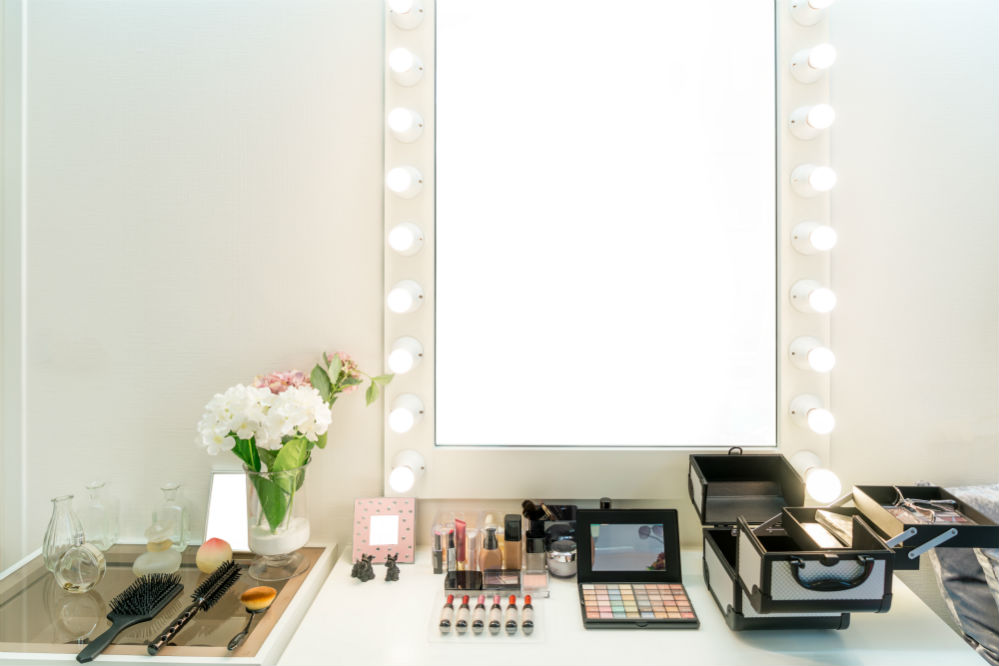 Chende Hollywood LED Dimmable Makeup Vanity Mirror